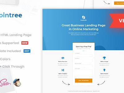 Pointree - Business HTML Landing Page Template (Marketing) - Other