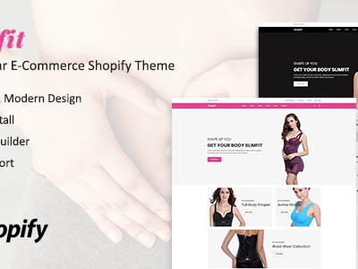 Slimfit - Shapewear eCommerce Shopify Theme + RTL + Dropshipping