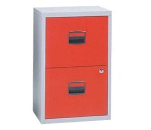 Bisley 3 Drawer Filing Cabinet Orange  Cabinets Matttroy