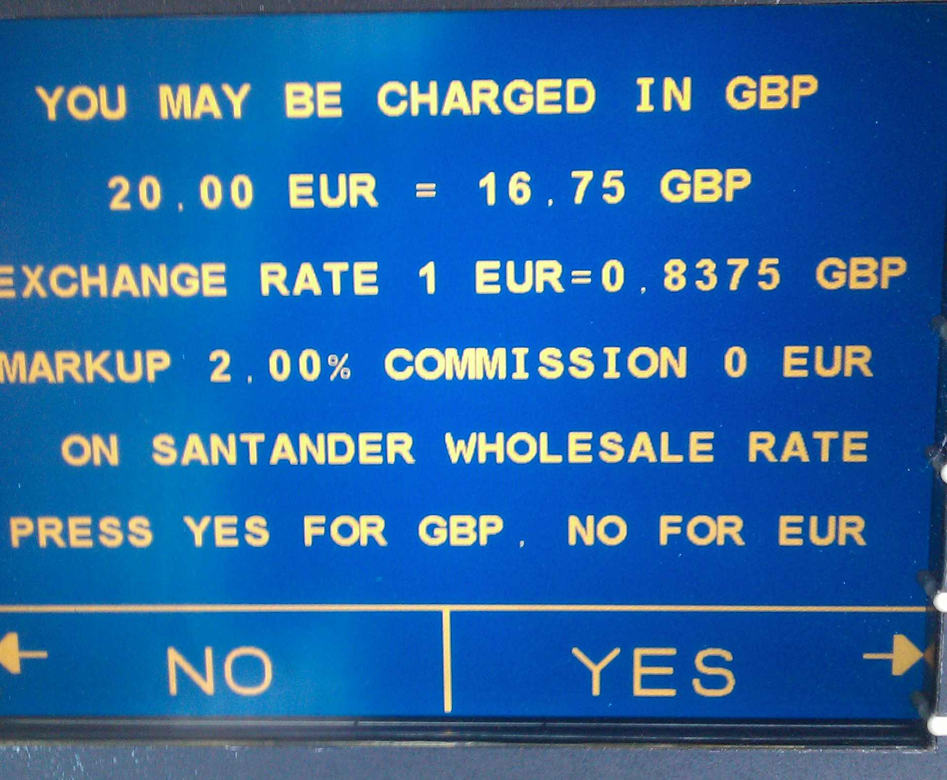 75 Libras A Euros Dcc What You Need To Know When Using A Foreign Atm Transferwise
