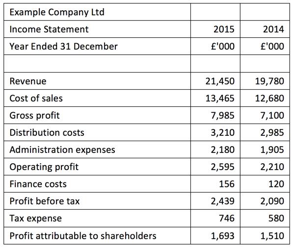 Income Statement Formats Multi Step Income Statement Format - fillable profit and loss statement
