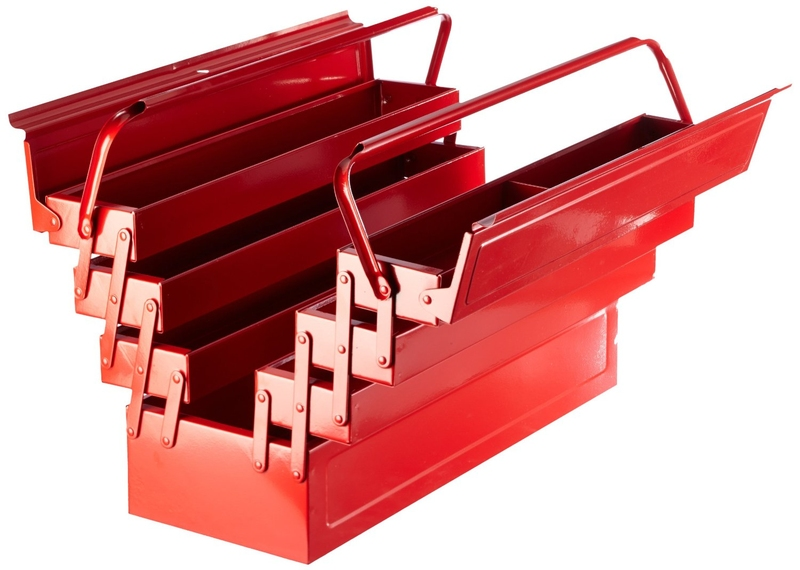 Laser Tool Box With Fold Out Trays 3487 Howden Tools
