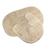 100% Baumwolle 2-tlg Badezimmer Matte & Badezimmermatte ...
