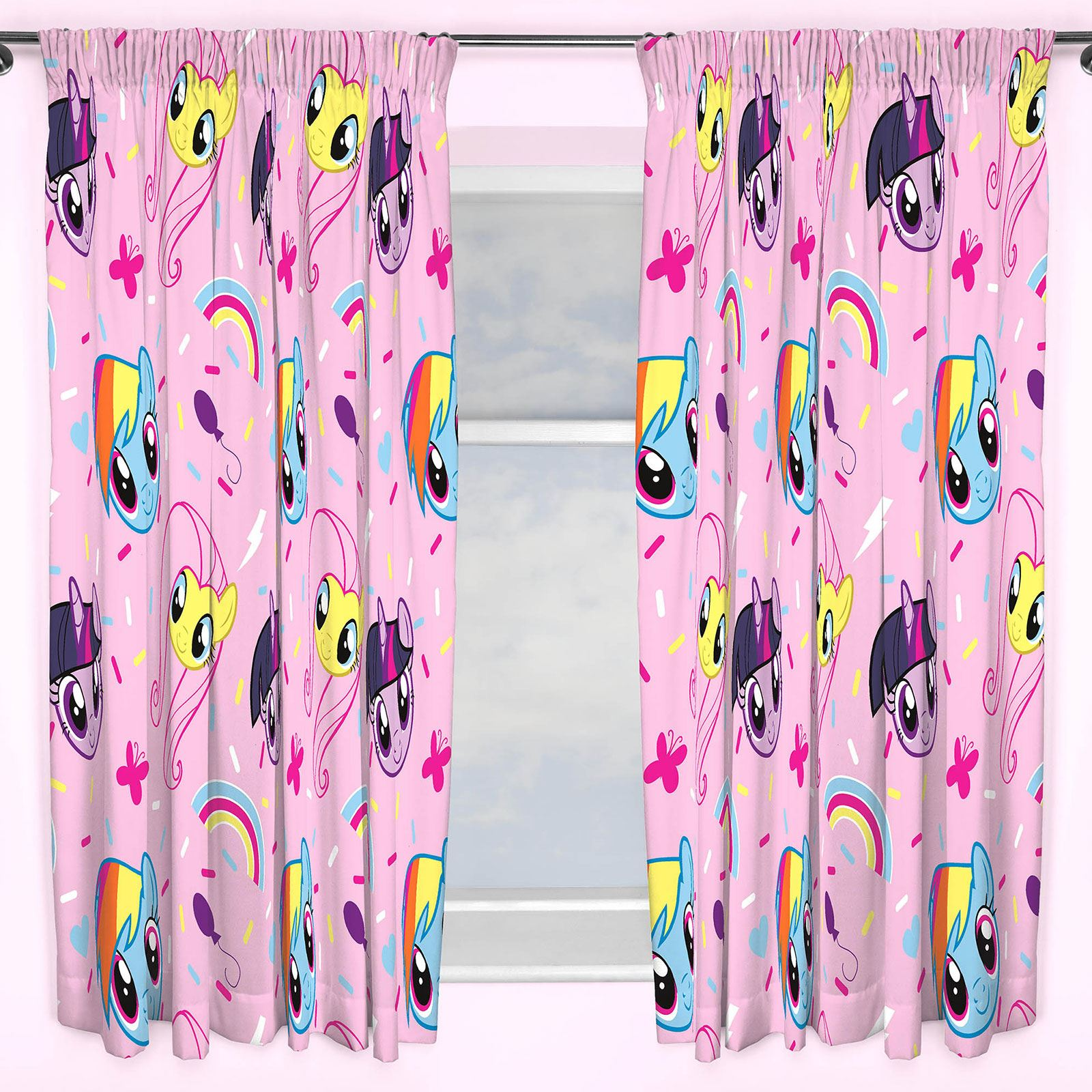 Girls Curtains Girls Curtains Disney Frozen Peppa Pig Pony Lol