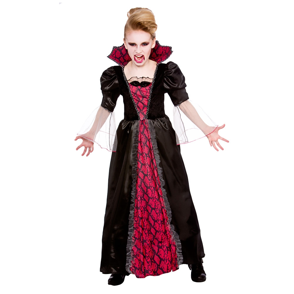 Halloween Kostuem Kinder Vampir Vampire Girl Costumes Kids Cosplay Q228 Halloween Girls Costumes