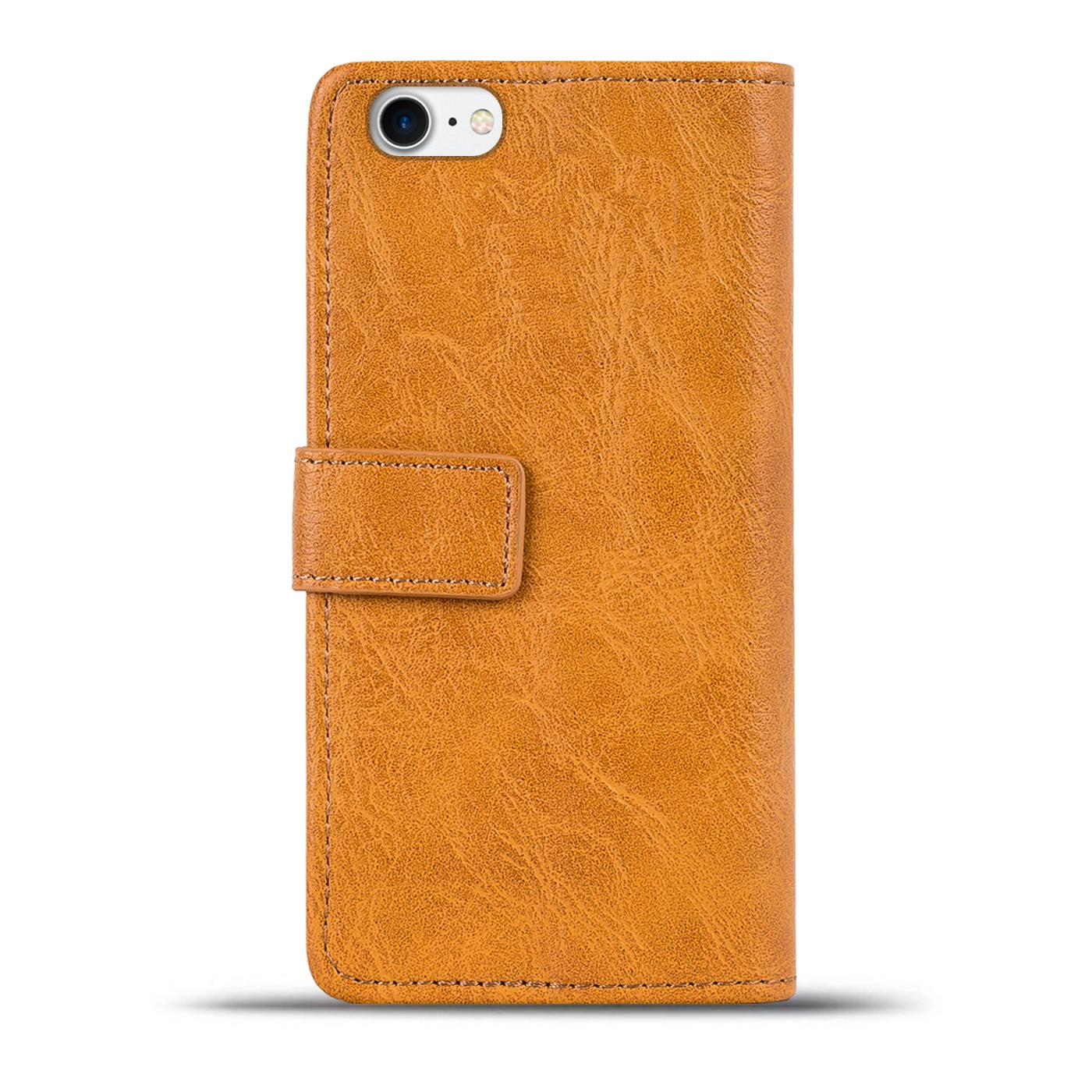 Funda Libro Iphone 7 Funda Libro Para Apple Iphone Móvil Plegable Protección