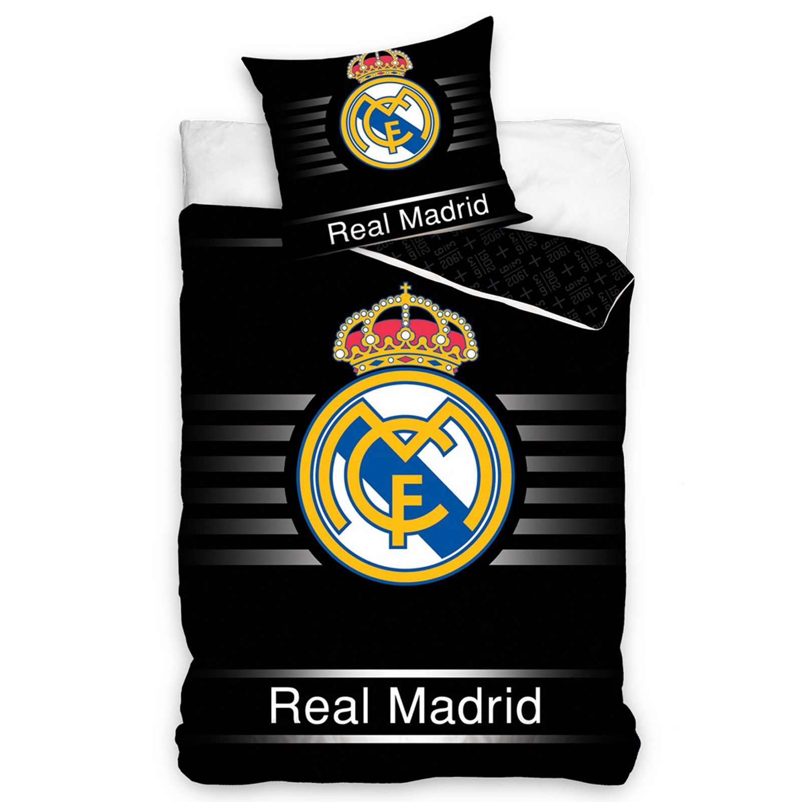 Dekbedovertrek Voetbal Official Real Madrid Single And Double Duvet Covers Football