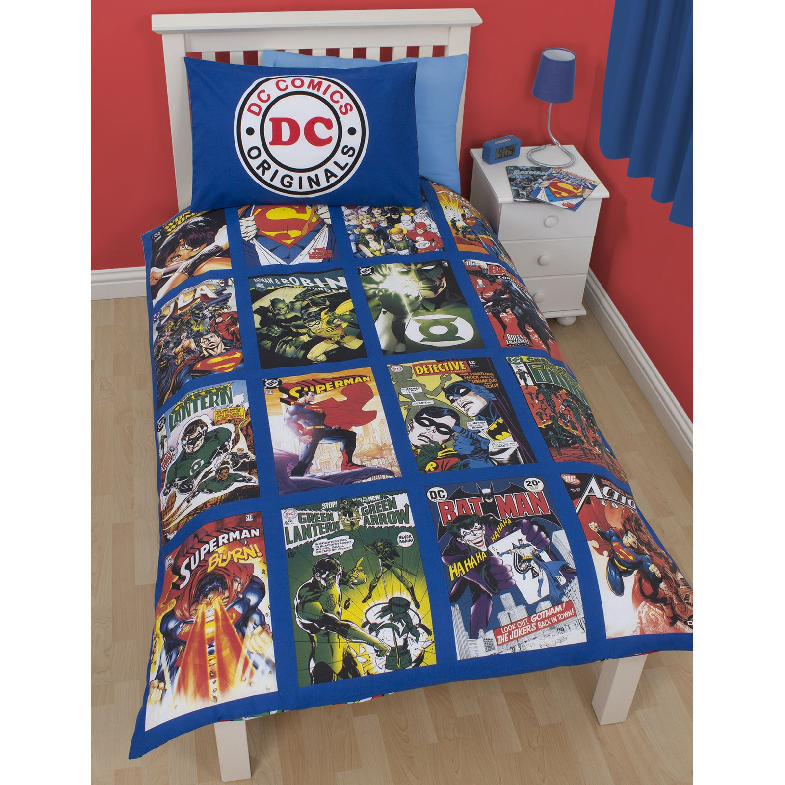 Batman Bettwäsche Batman Bedroom Set 4pc Dc Comics Batman Bedding Set Guardi