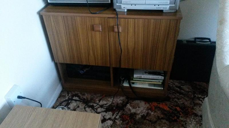 Cupboard Modern Teak Effect For Hall Lounge Or Dining