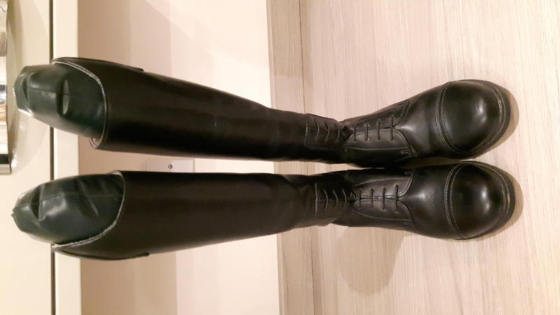 Mountain Horse Junior Riding Boots Size 4 Ryde Wightbay