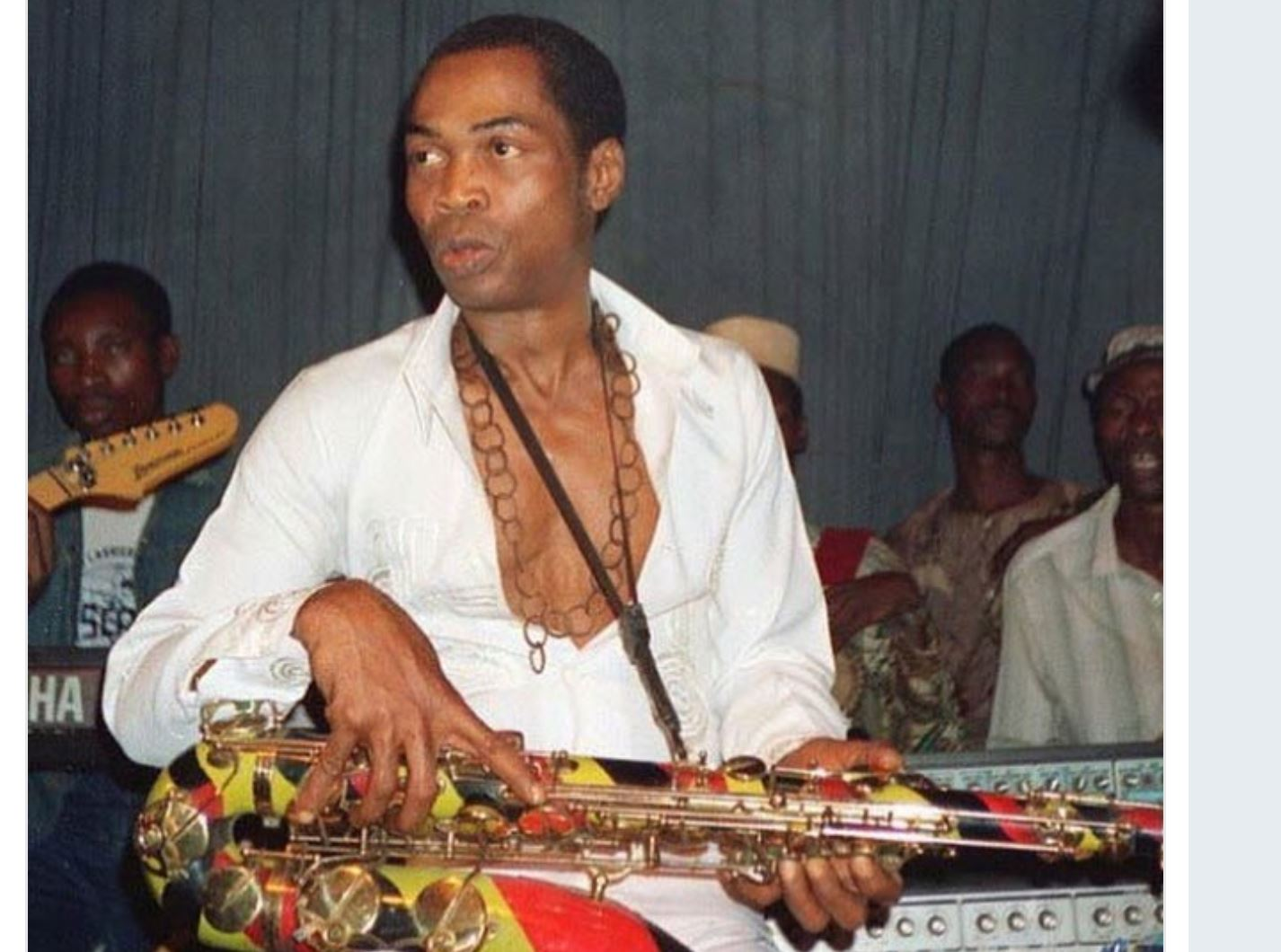 Fela Kuti His Music Lives On Nigerians Music Enthusiasts Remember