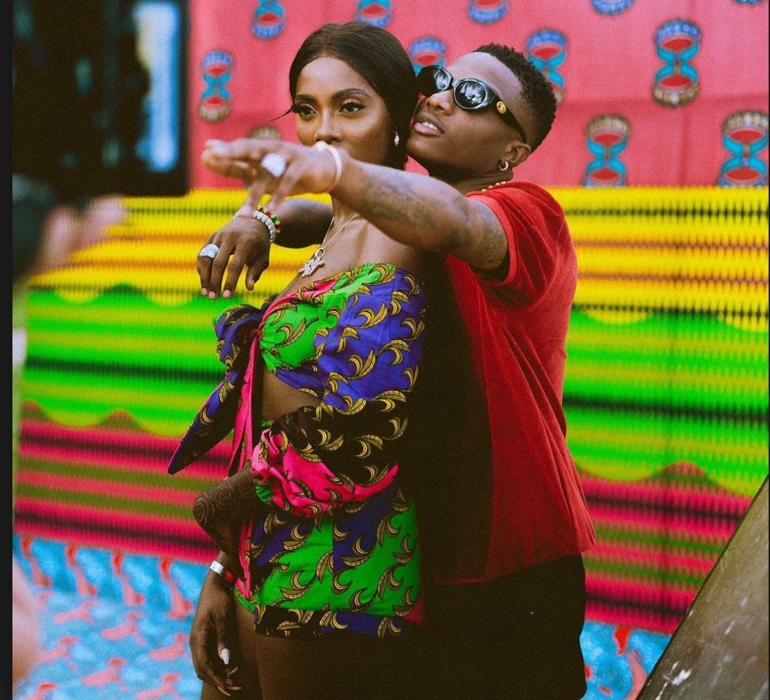 Wizkid Video Wizkid Tiwa Savage Display Affection Publicly In New Video