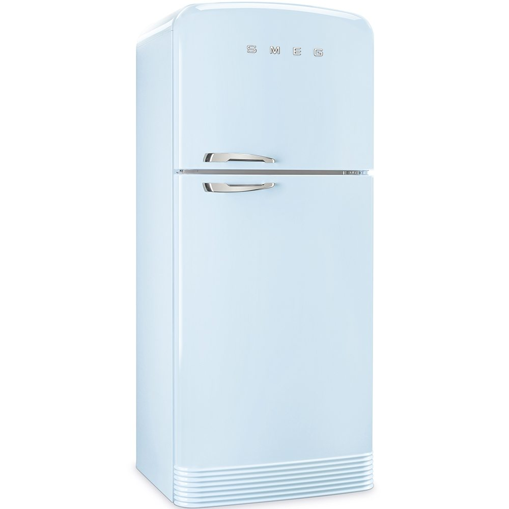 Fridge Freezer Smeg Fab50rpb Retro Top Mount Frost Free Fridge Freezer Pastel Blue