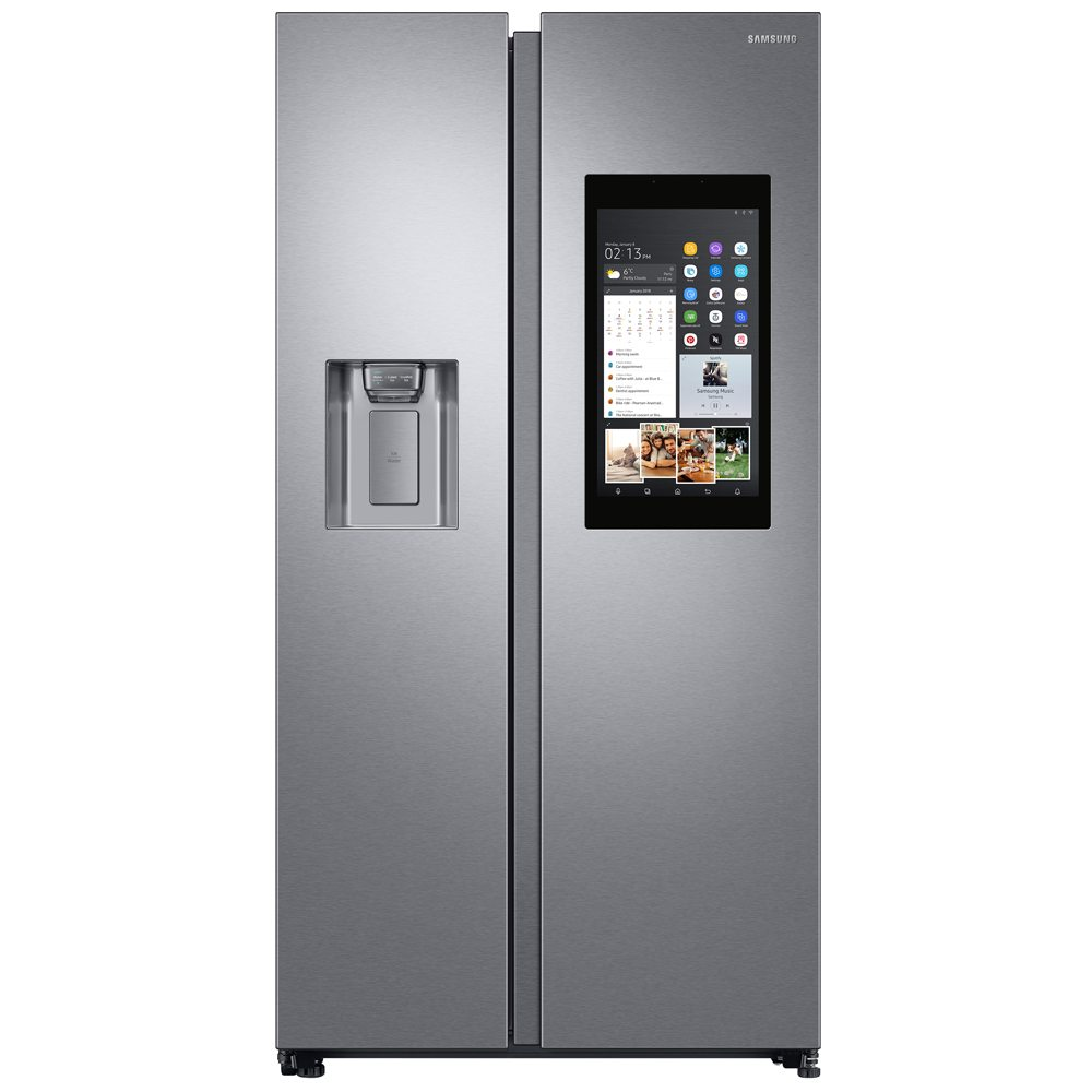 Fridge Freezer Samsung Rs68n8941sl American Style Family Hub Rs8000 Fridge Freezer With Ice Water Stainless Steel