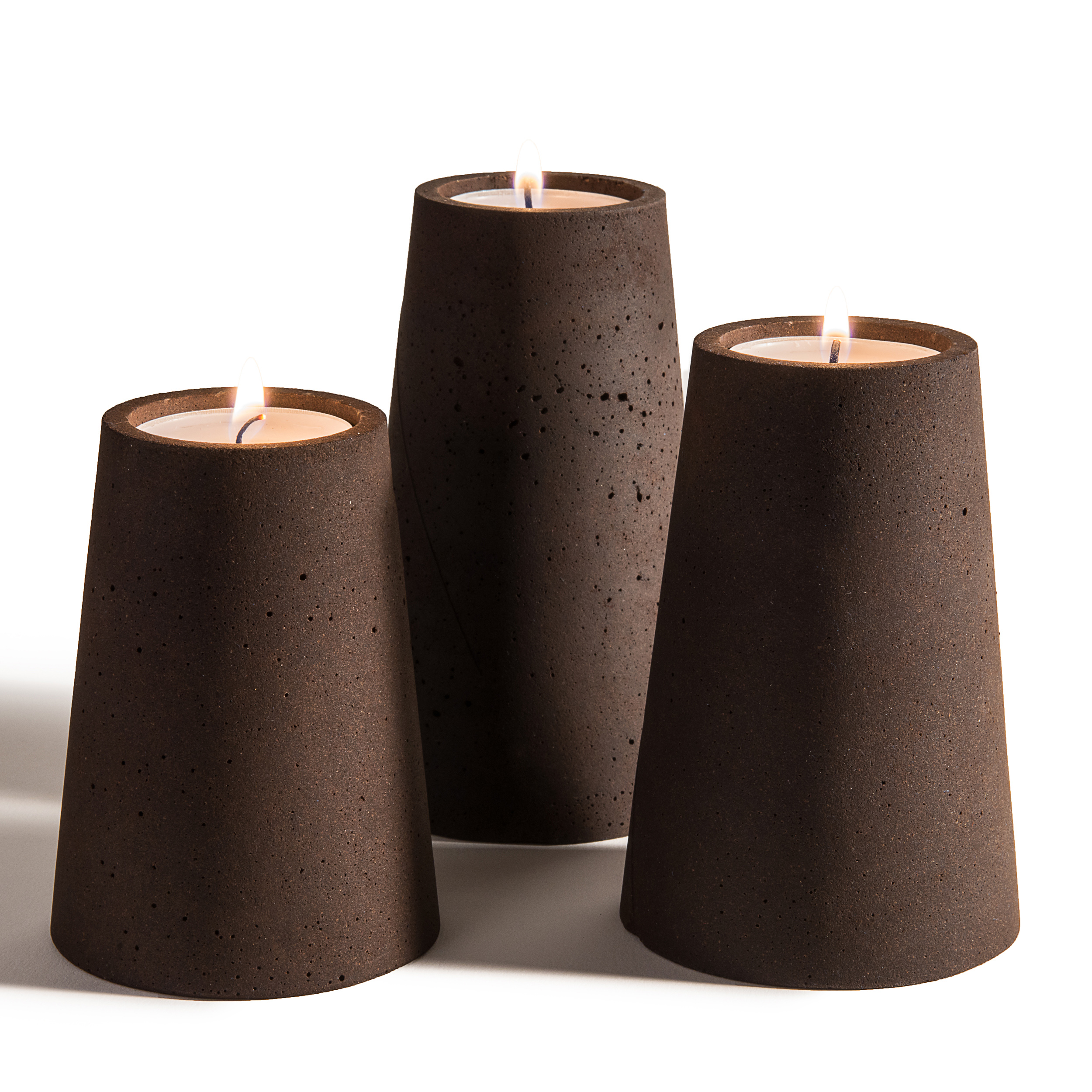 Buy Candles Online Ayane Set Of 3 Candles Buy Online Now At All Square Lighting