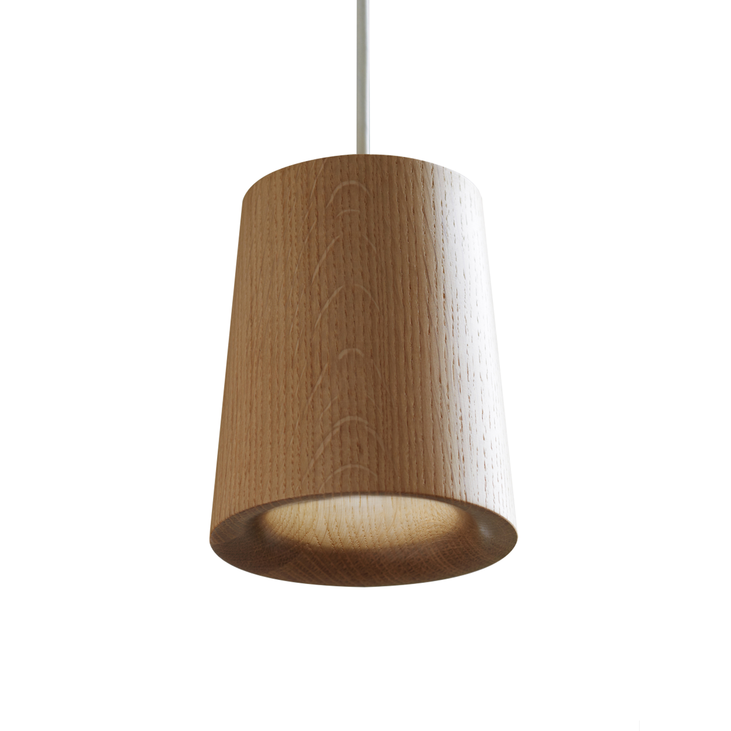 Wooden Lighting Pendants Buy The Solid Wooden Cone Pendant Light All Square Lighting