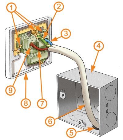 Wall Plate Wiring - Wiring Diagram Progresif