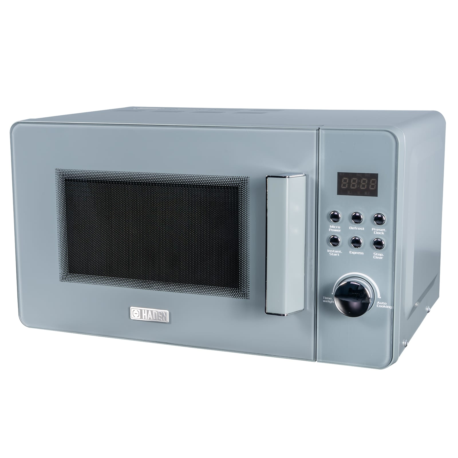 Kitchen Appliances Perth Haden Perth 186690 20l Slate Grey 800w Freestanding Microwave Oven