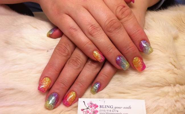 Bling Your Nails Nail Salons Castro Valley Ca United States Yelp