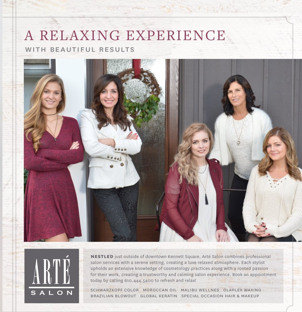 Arte Salon & Spa Arte Salon Hair Salons 115 W Street Rd Kennett Square Pa