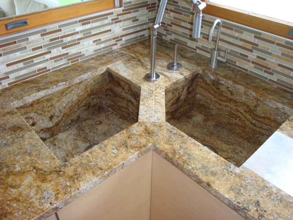 Custom Granite Sinks And Drain Boards Yelp