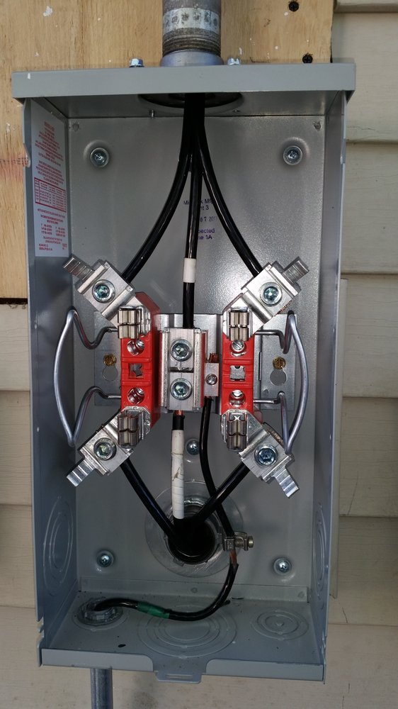 installed 100 Amps Meter socket outdoor - Yelp