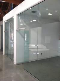 All glass office partitions and doors. - Yelp