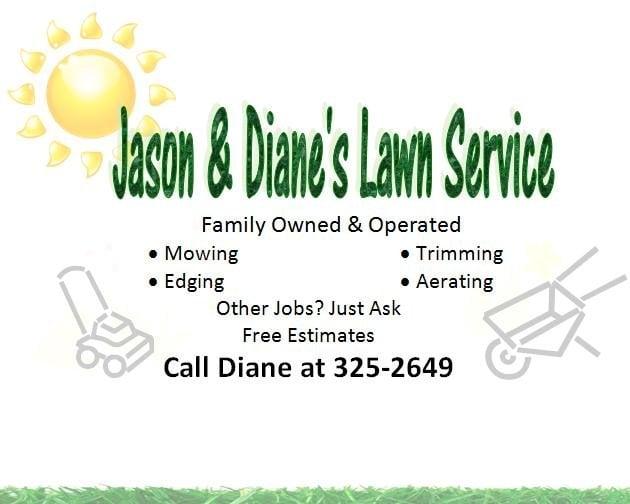 Jason  Diane\u0027s Lawn Service - Landscaping - Spokane, WA - Phone - lawn services flyer