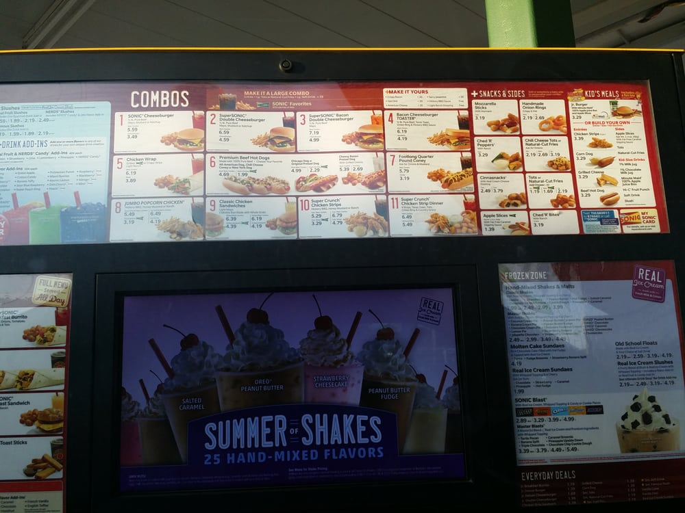 Sonic Drive-In - Fast Food - 4801 S Memorial Dr, East Tulsa, Tulsa