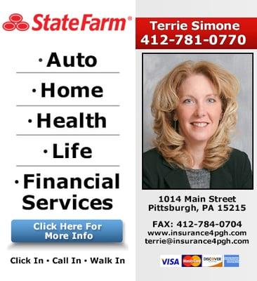 Terrie Gordish - State Farm Insurance Agent 1014 Main Street