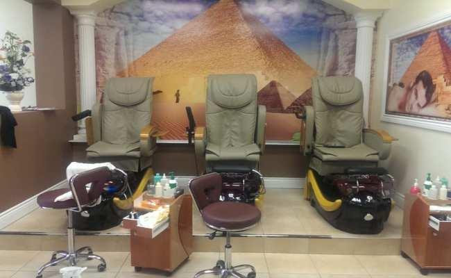 Cleopatra Nail Spa Nail Salons 5980 Churchill Meadows Boulevard Erin Mills Mississauga