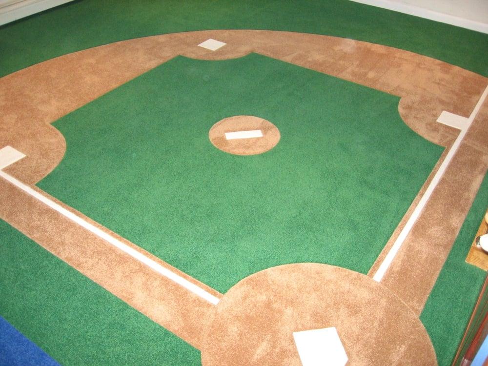 Custom Wall To Wall Carpet In Boy39s B R Baseball Field Yelp