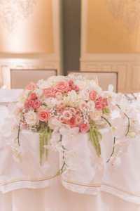 sweetheart table arrangement - Yelp