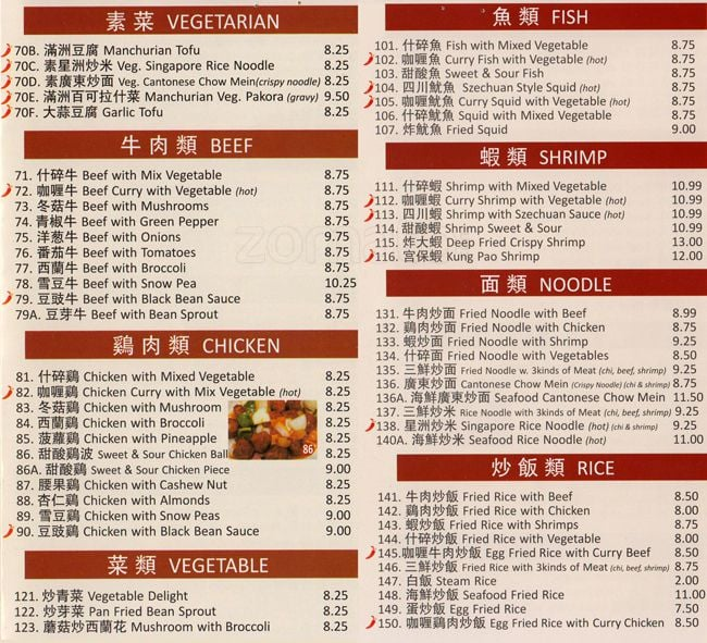 Lucky Chinese Restaurant Menu-2 - Yelp
