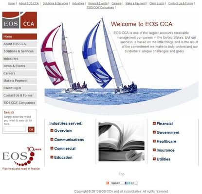 EOS CCA 700 Longwater Dr Norwell, MA Financial Advisory Services