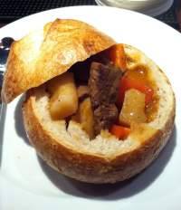 Hungarian Beef Soup in Bread Bowl - Yelp