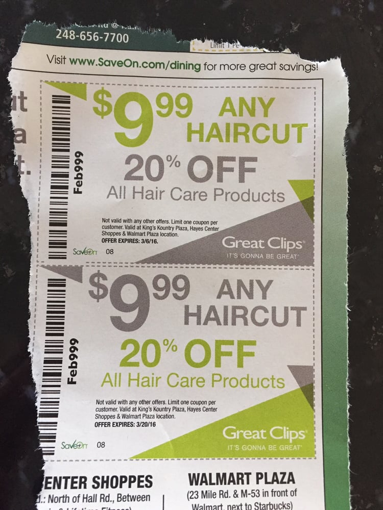 Coupons that come in the SaveOn coupon flyers - Yelp