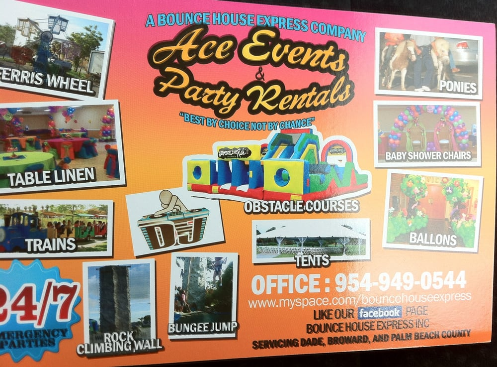 Ace Party Rental Event Services - Party  Event Planning - 1951 NW