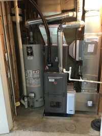 Newly installed Rheem equipment. New Furnace, ac coil, air ...