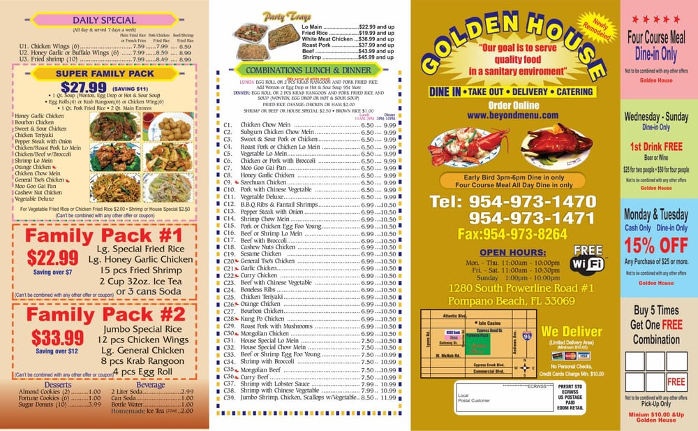 Our to go menu - Yelp