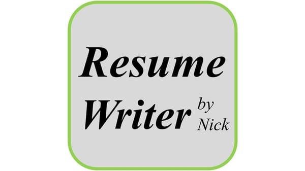 Resume Writer by Nick - Editorial Services - Alexandria, VA - Phone - resume writer