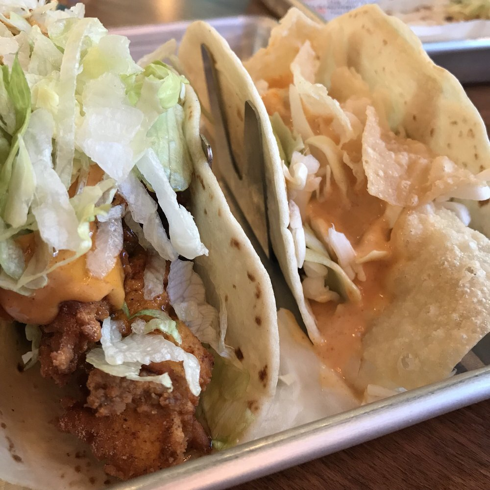 Fullsize Of Fried Chicken Taco
