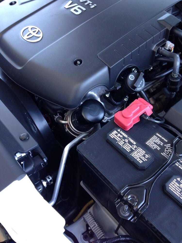 The fuel filter of 2015 Tacoma AWESOME easy location - Yelp
