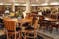 Dining room furniture in the DutchCrafters Amish Furniture