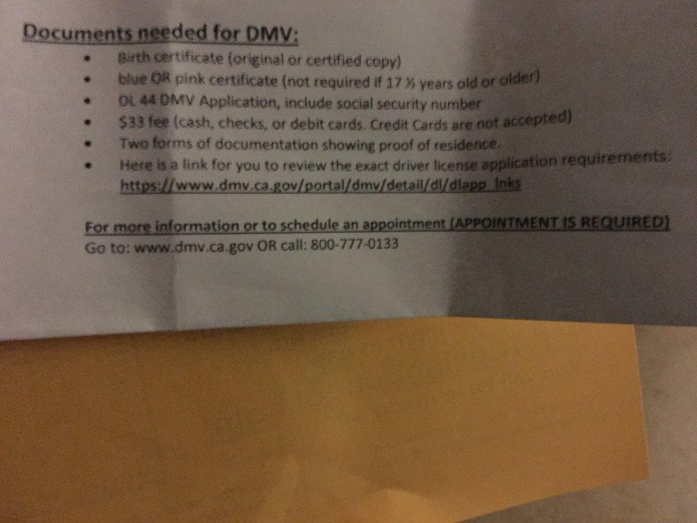 Behind The Wheel Driving School - 51 Reviews - Driving Schools - 500 - best of torrance ca birth certificate