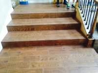 Wood Plank Tile Steps