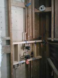 Custom shower valve with transfer valve - Yelp