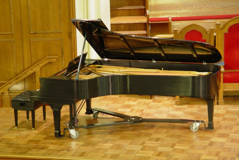 Steinway Concert Grand Piano restored by Acme Piano Acme now