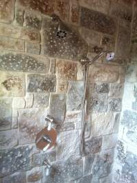 Polyurethane topcoat cheap white mosaic tiles piece