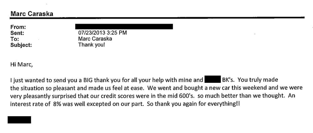 Client Appreciation Email - LS - Rancho Cordova, CA - Yelp - appreciation email